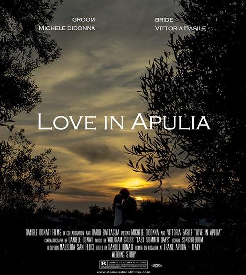 wedding videographer apulia