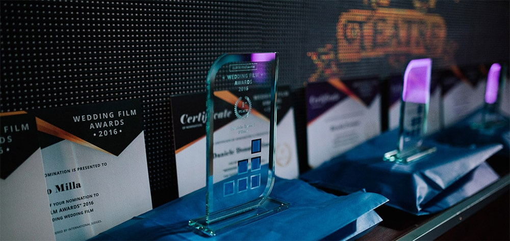awards wedding film Daniele Donati