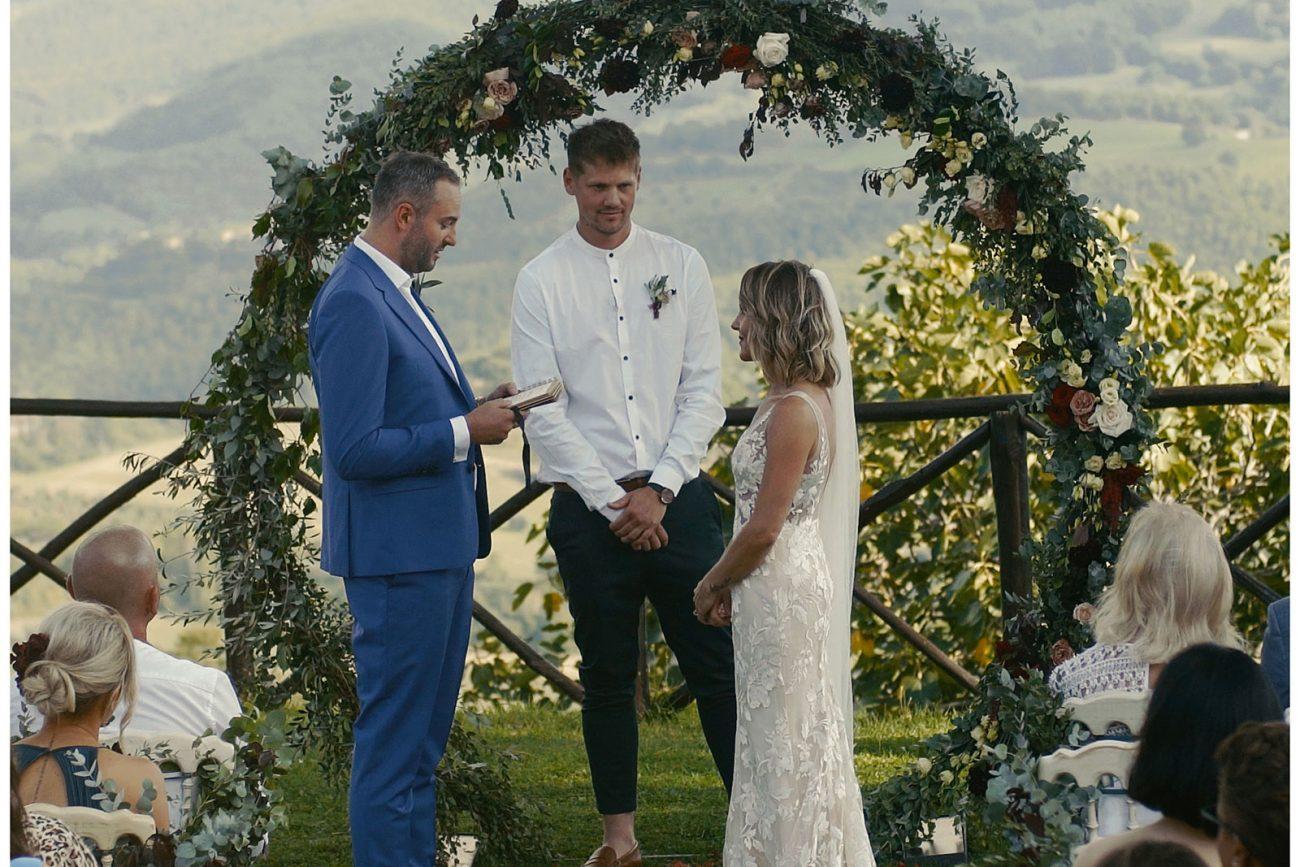 wedding cerimony umbria