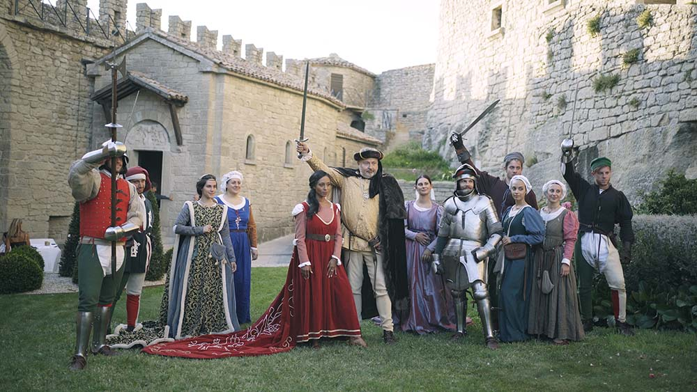 medieval wedding in san marino